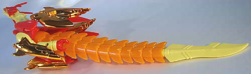 聖天折紙戦士 ドラファラード:AMBER DRAGON