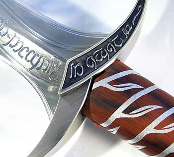 MASTER REPLICAS THE LOAD OF THE RINGS STING SWORD