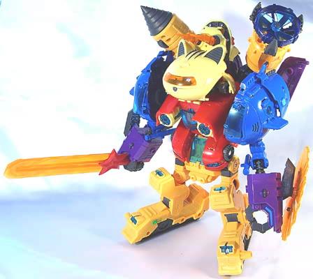 星猫合体ロボ